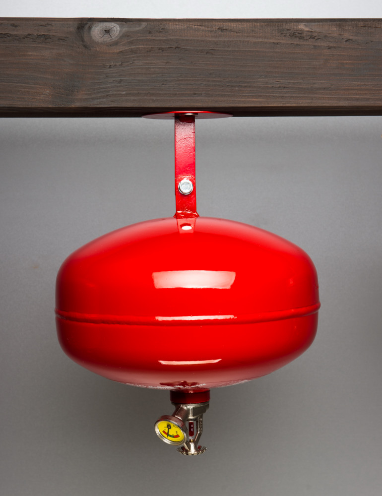 Samoczynne urządzenie gaśnicze 6 kg ABC
