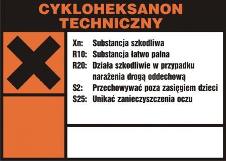 Cykloheksanon techniczny