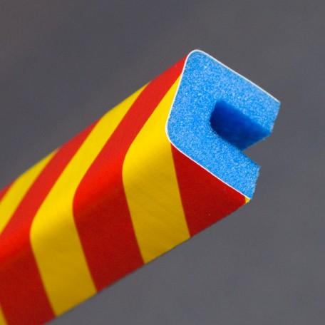 Profil ochronny ostrzegawczy czerwono - żółty 4
