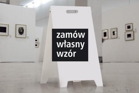 Stojak ze znakami - potykacz (dowolna grafika) - mały 30 x 42 cm