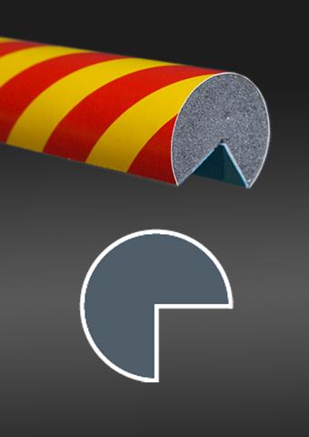 Profil ochronny ostrzegawczy czerwono - żółty 3