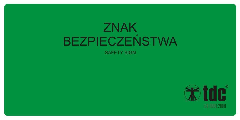 Rewers znaków bezpieczeństwa (przykl. na szybach) 2