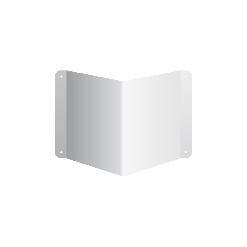 Nośnik kwadratowych znaków 3D gięty