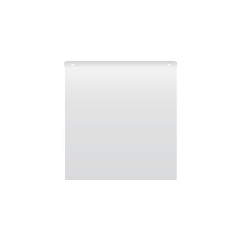 Nośnik kwadratowych znaków 3D gięty typu chorągiewka 2