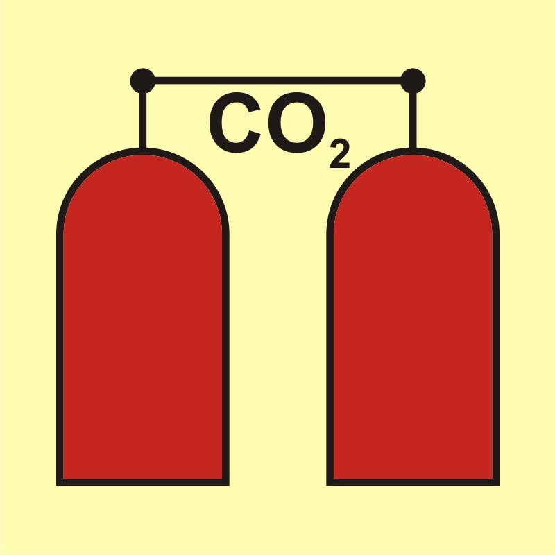 Stanowisko uruchamiania gaśniczej instalacji CO2