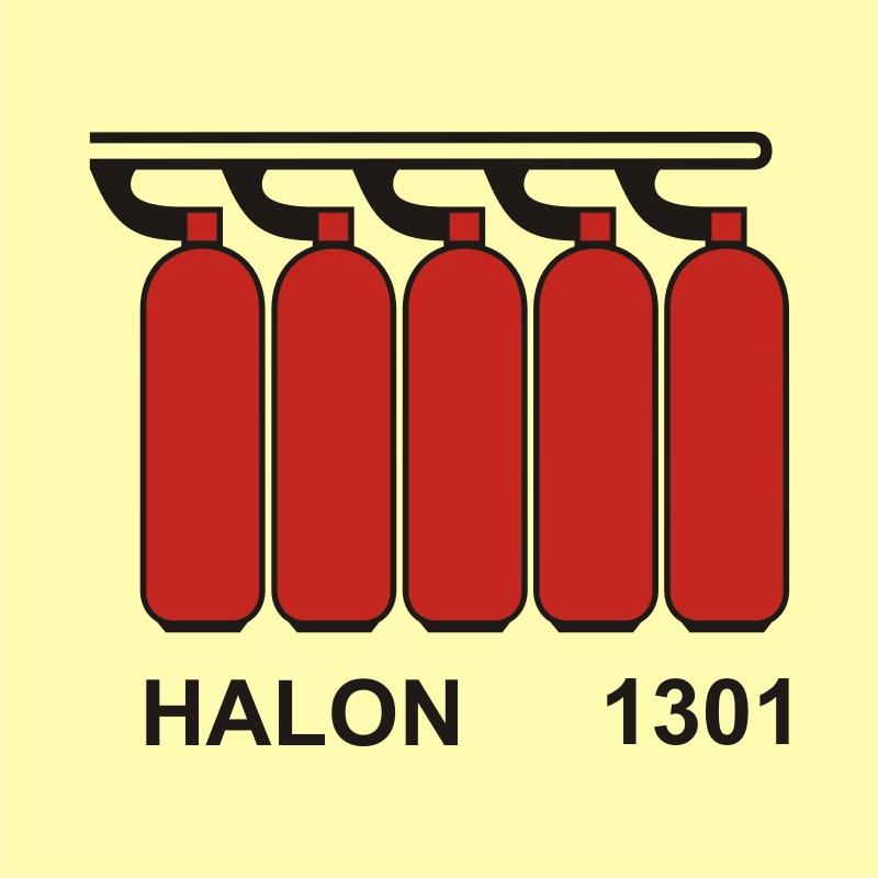 Bateria butli halonu 1301