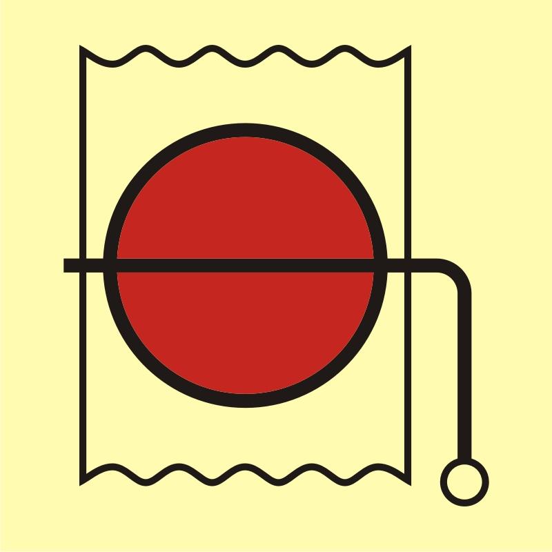 Urządzenie do wewnętrznego zamknięcia wentylacji