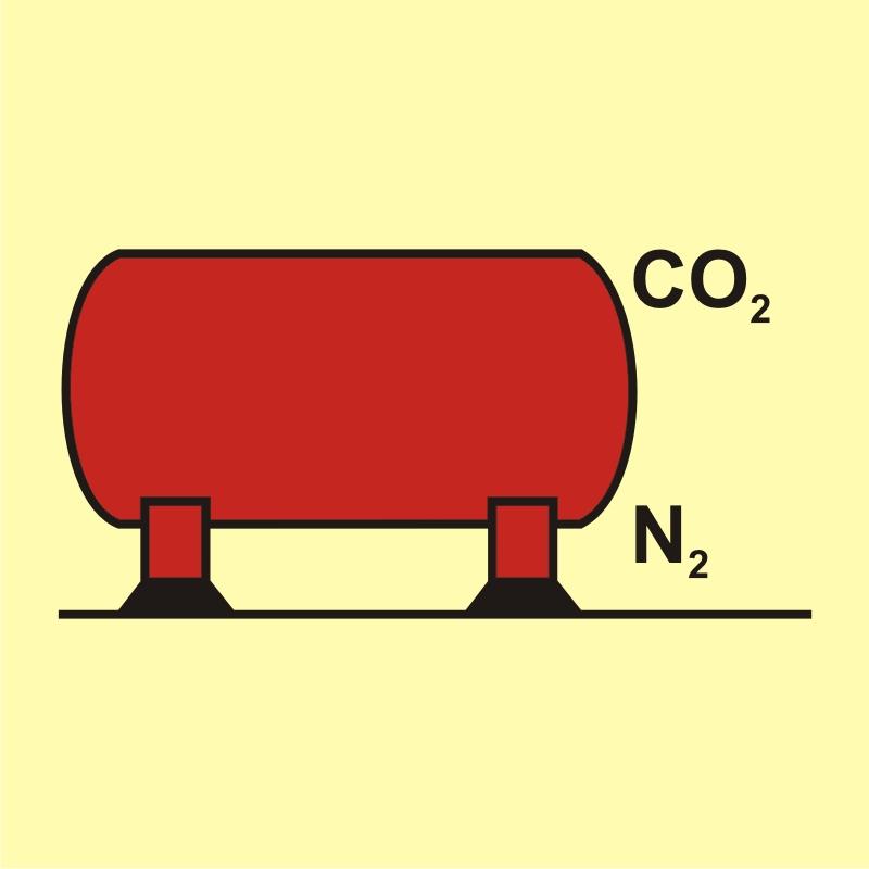 Zbiornik instalacji CO2 / N2