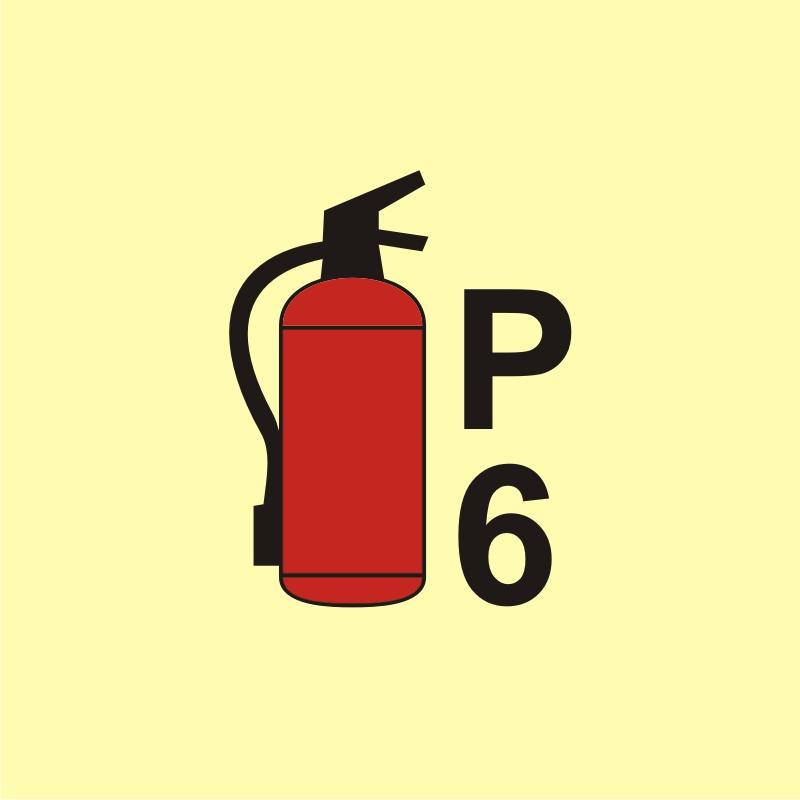 Gaśnica proszkowa P6