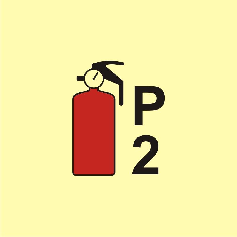 Gaśnica proszkowa P2