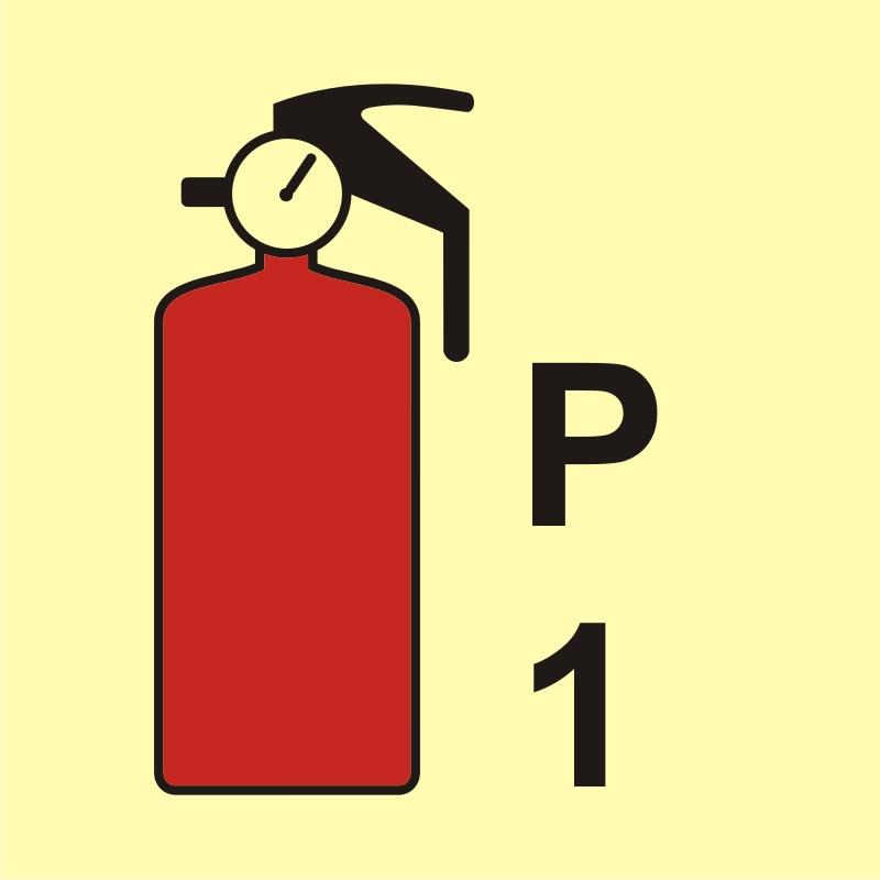 Gaśnica proszkowa P1