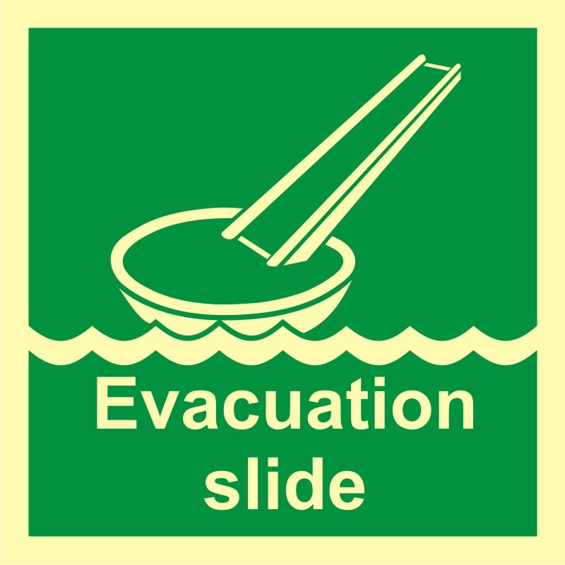 System ewakuacji okrętowej (ślizg)