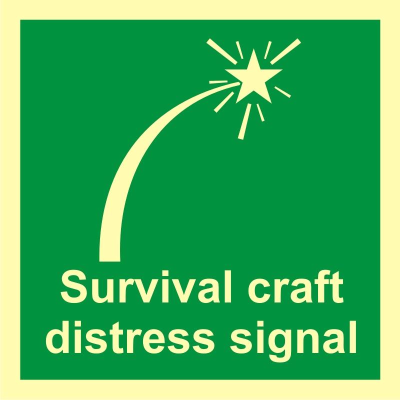 Sygnał niebezpieczeństwa sprzętu ratowniczego