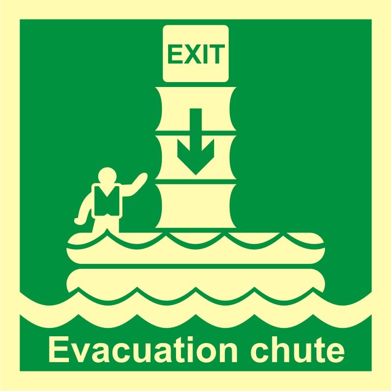 System ewakuacji okrętowej (zsuwnia)