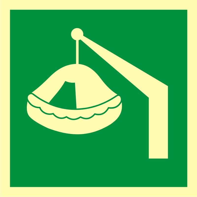 Tratwa wodowana żurawikiem 2