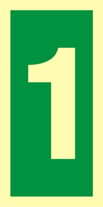 Numer stacji ewakuacyjnych 1