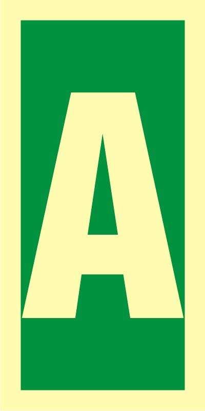 Symbol stacji ewakuacyjnych A
