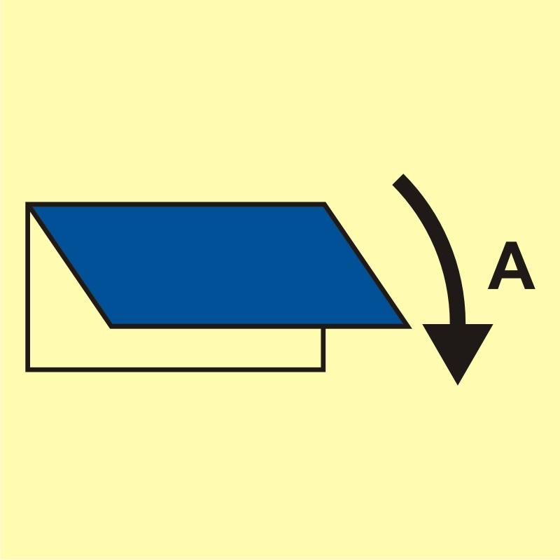 Zamykacz wlotu/wylotu wentylacyjnego (obszar serwisowy)