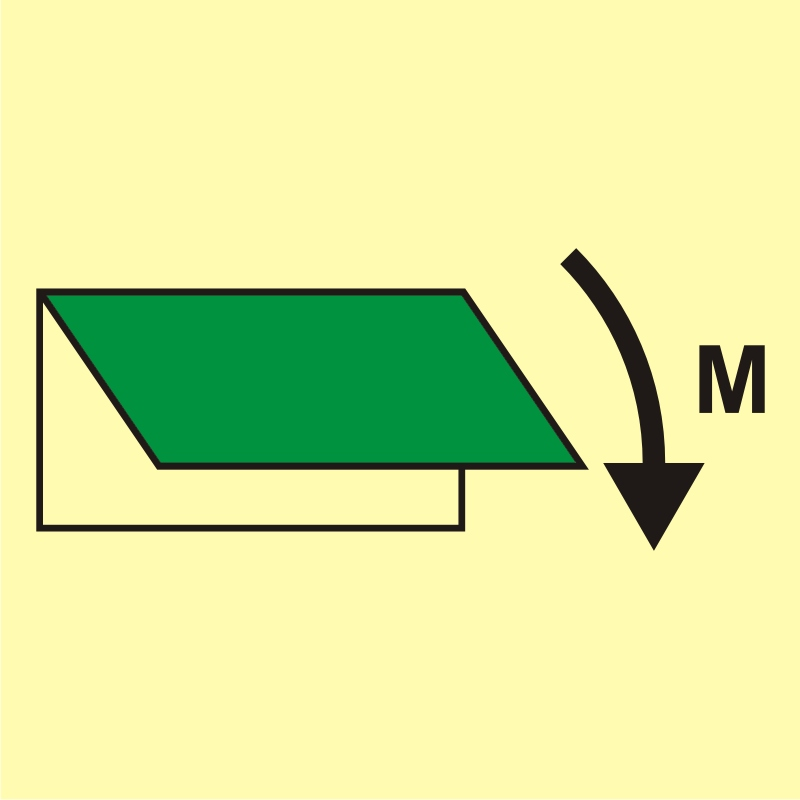 Zamykacz wlotu/wylotu wentylacyjnego (obszar maszynowy)
