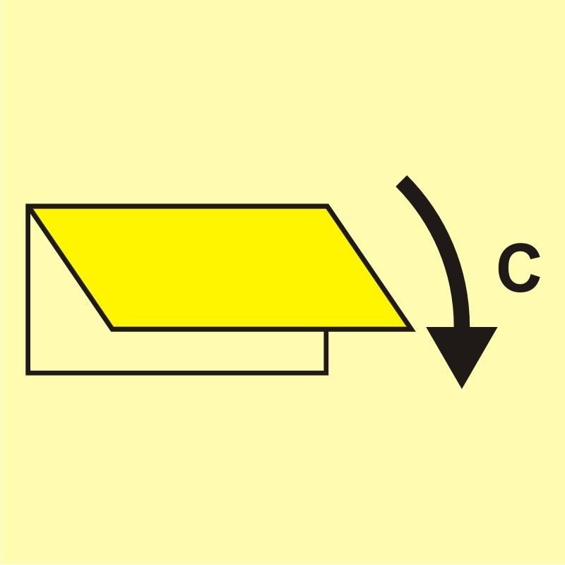 Zamykacz wlotu/wylotu wentylacyjnego (obszar towarowy)