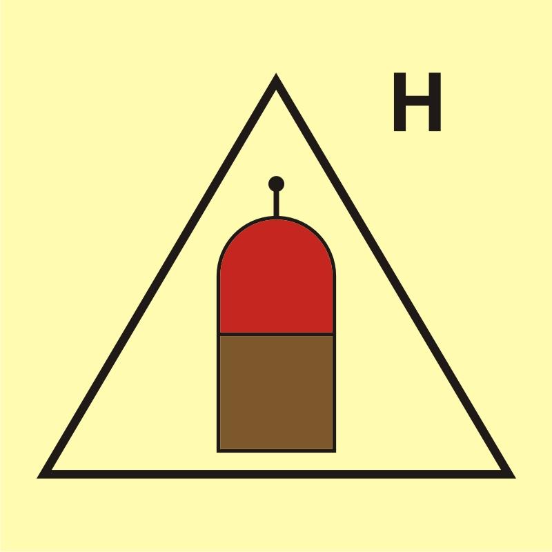 Stanowisko zdalnego uwalniania (H - gaz)