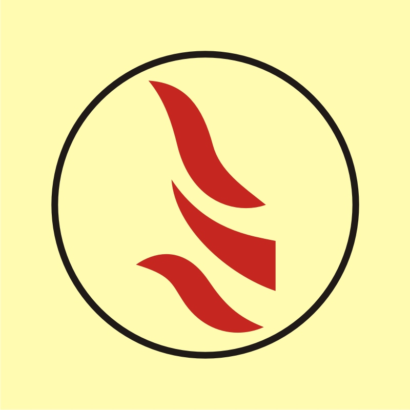 Obszar lub zespół obszarów monitorowanych przez detektory ciepła 2
