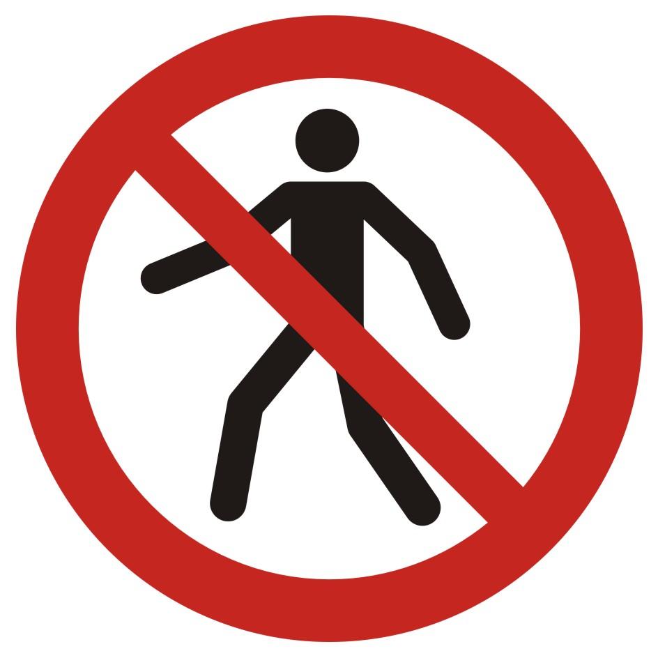 Zakaz przejścia