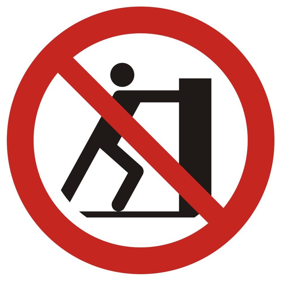 Zakaz pchania