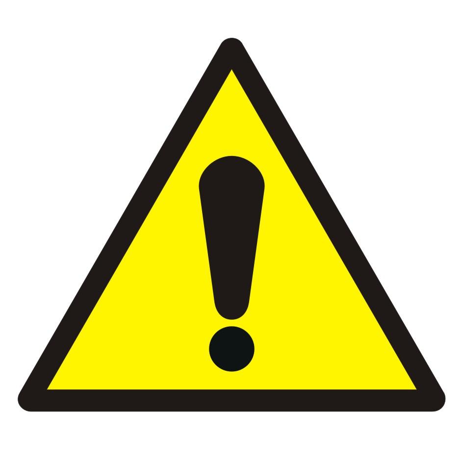 Znak Ogólny znak ostrzegawczy