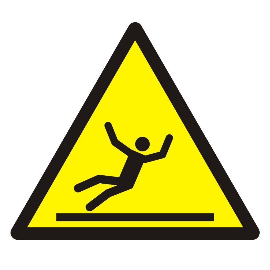 Znak Ostrzeżenie przed śliską powierzchnią