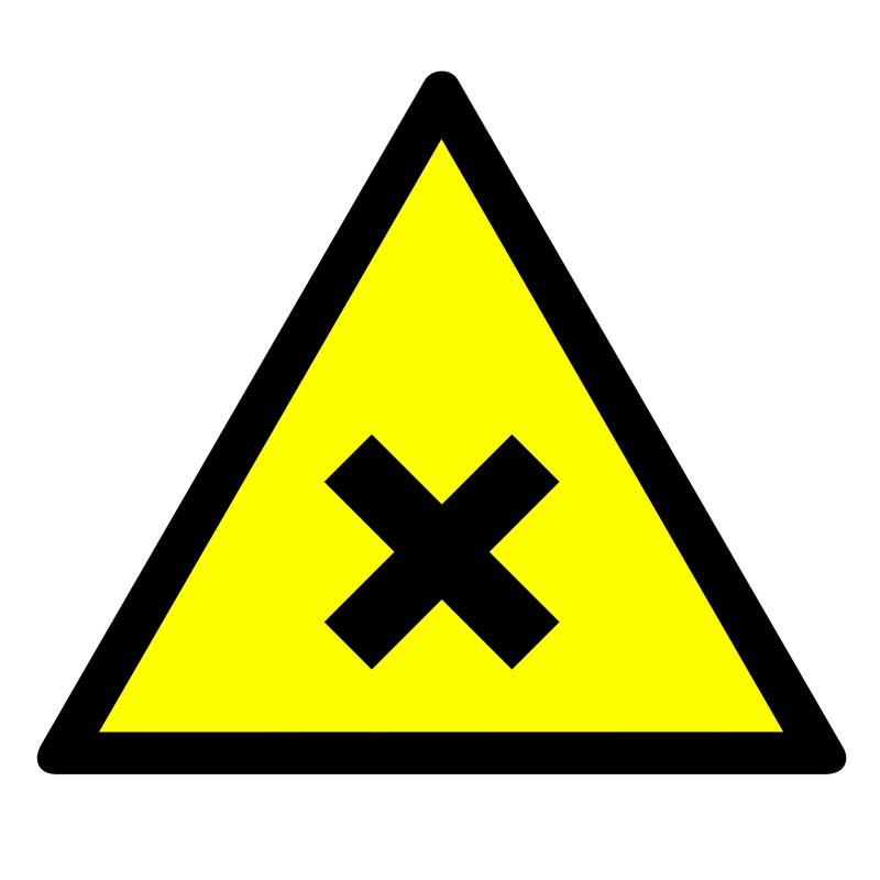 Znak Substancja szkodliwa lub drażniąca