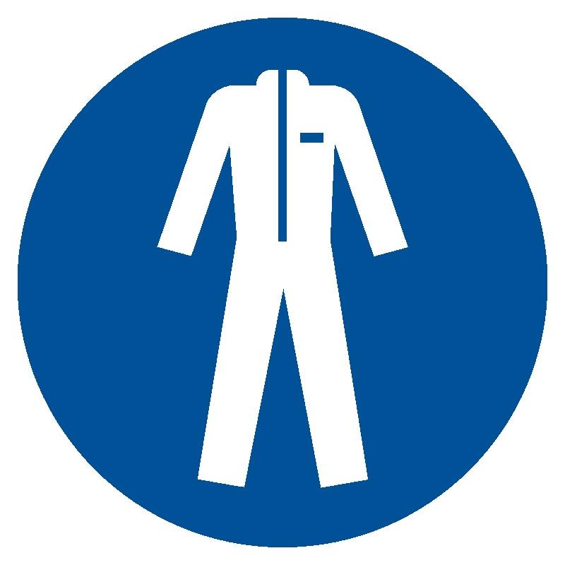 Nakaz stosowania odzieży ochronnej