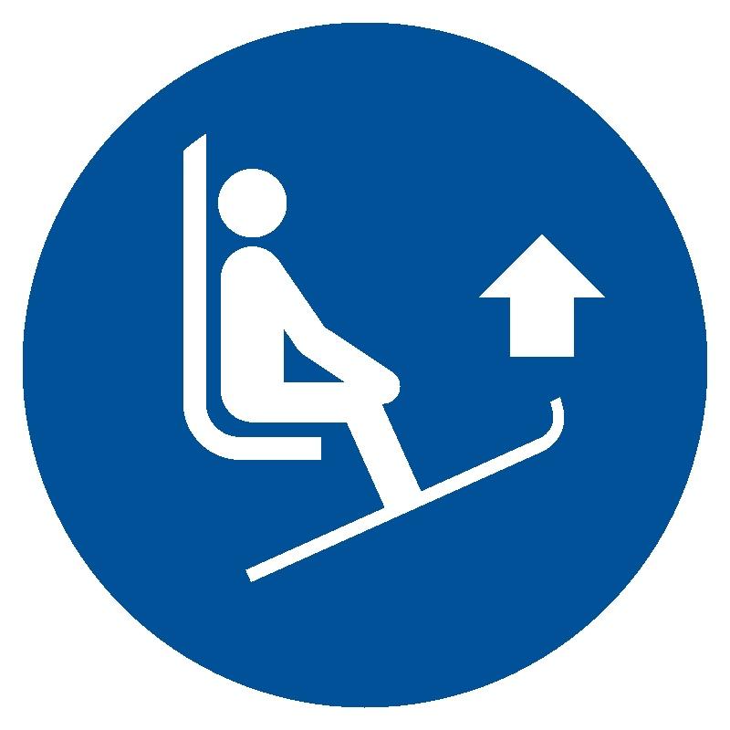 Podnieś przody nart