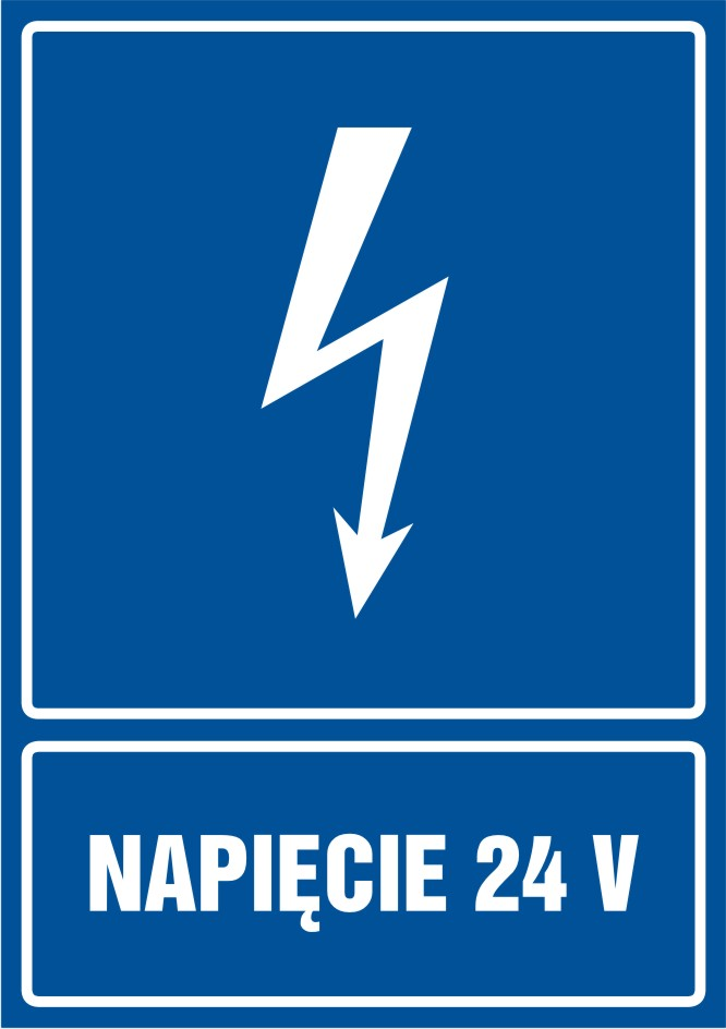 Napięcie 24V - pionowy