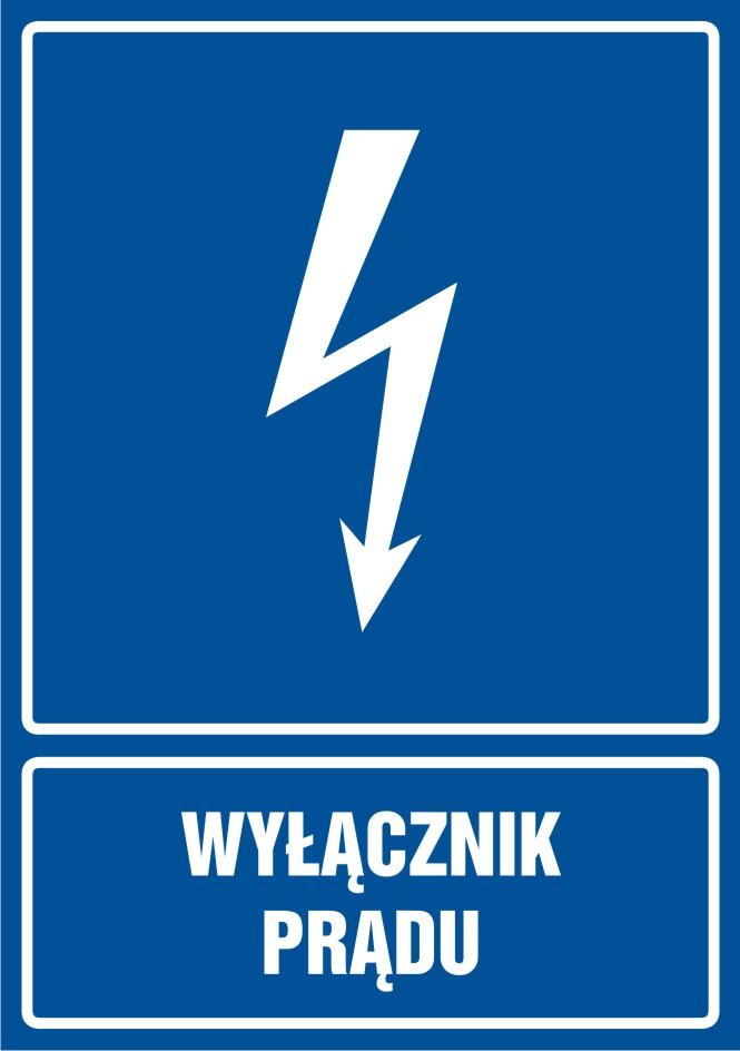 Wyłącznik prądu - pionowy