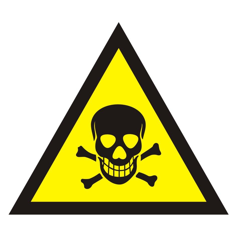 Ostrzeżenie przed substancjami toksycznymi
