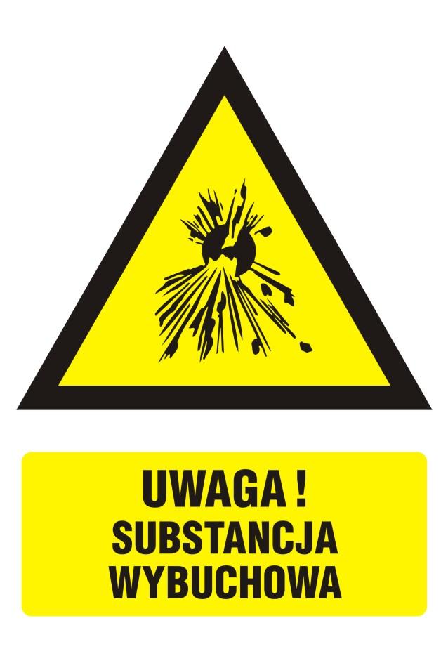 Ostrzeżenie przed substancjami wybuchowymi 2