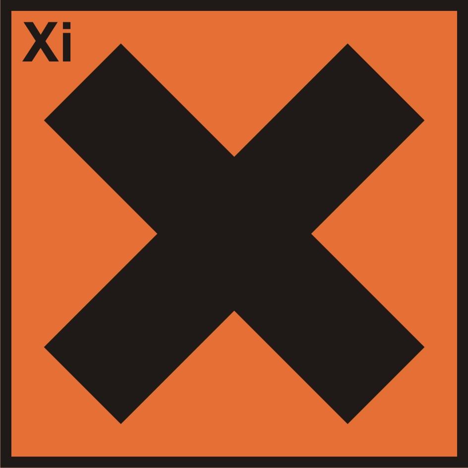 Substancja drażniąca (Xi)