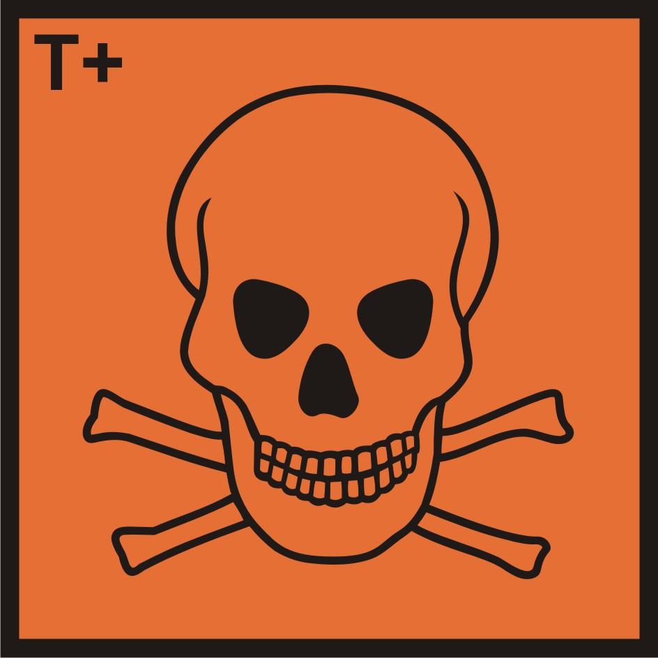 Substancja bardzo toksyczna (T+)