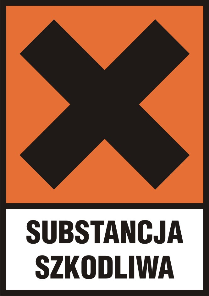 Substancja szkodliwa (Xn) z opisem