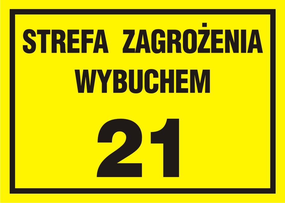 Strefa zagrożenia wybuchem 21