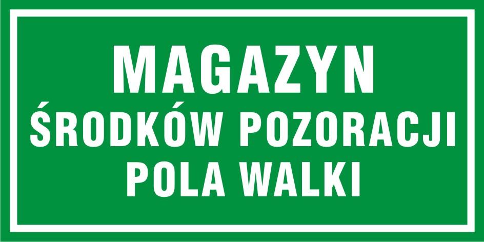 Magazyn środków pozoracji pola walki