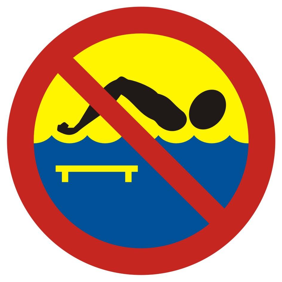 Kąpiel zabroniona - most