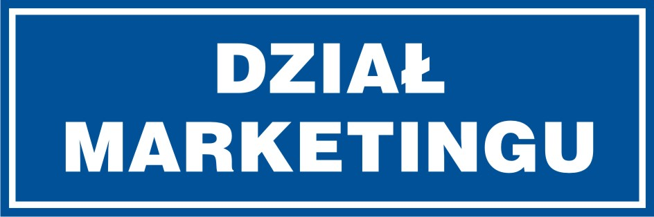 Dział marketingu