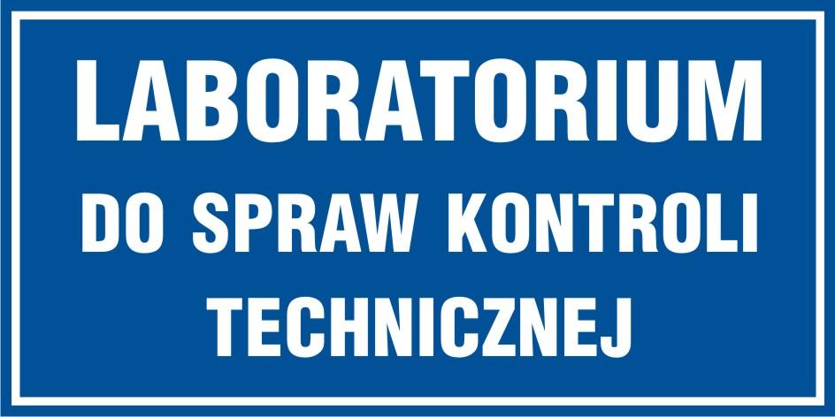Laboratorium do spraw kontroli technicznej