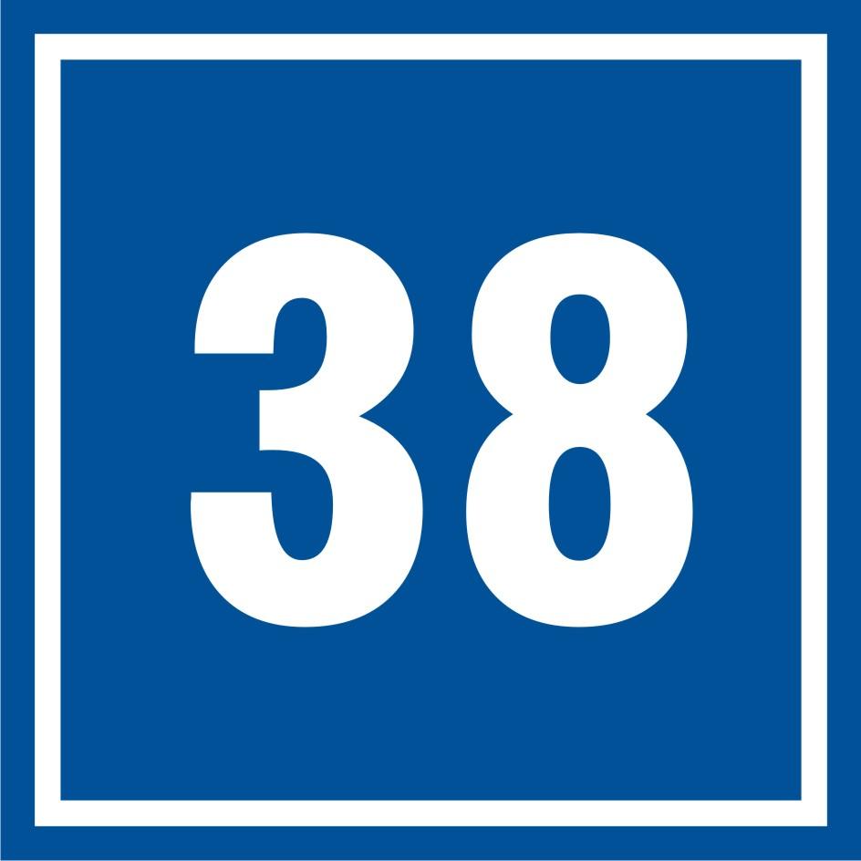 Tabliczka numer 38