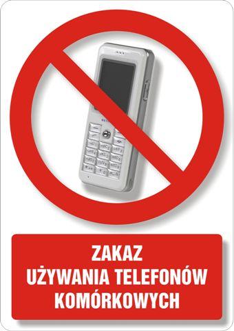 Zakaz używania telefonów komórkowych 2