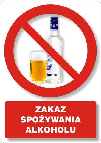 Zakaz spożywania alkoholu 2