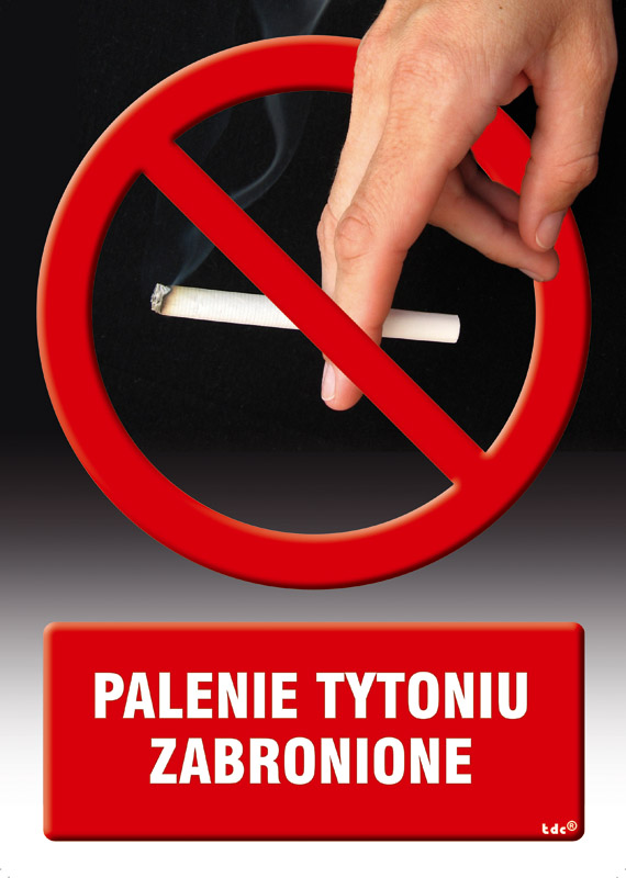 Palenie tytoniu zabronione 3