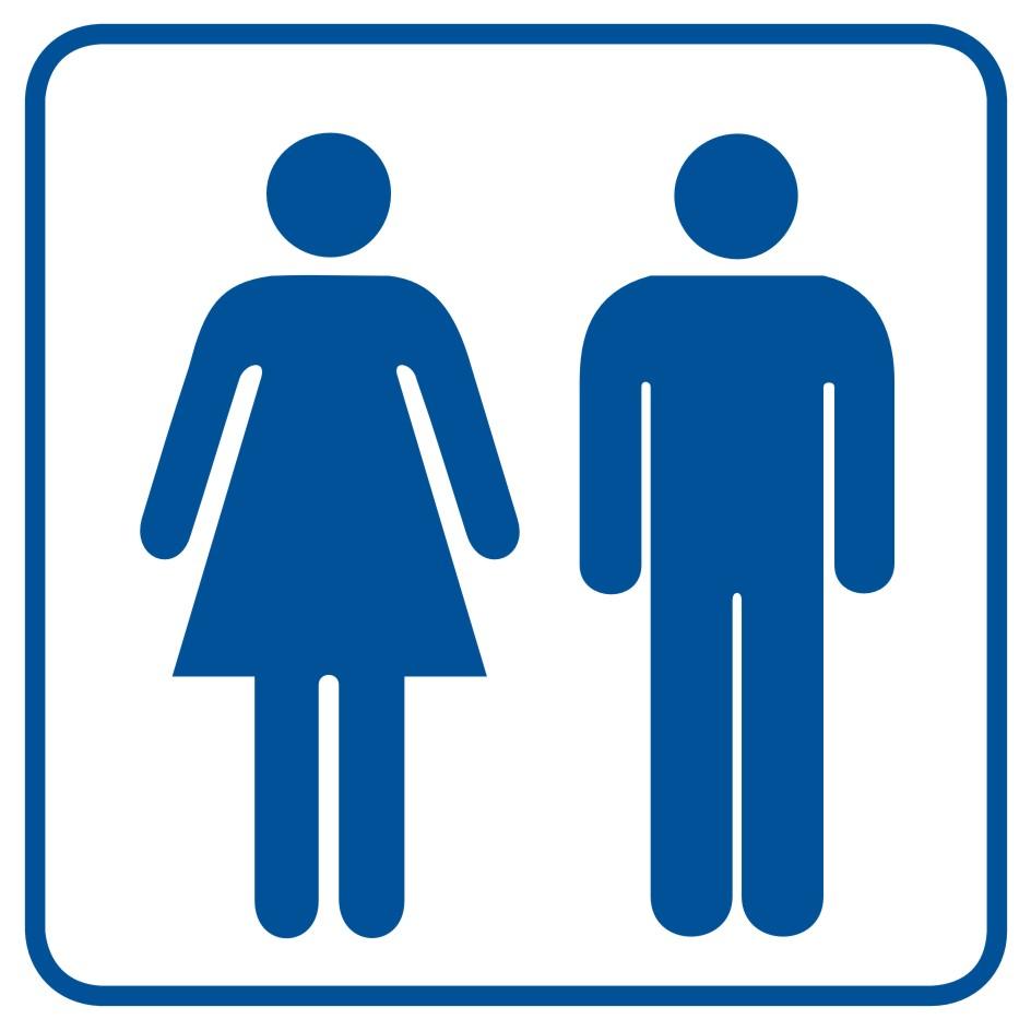 Toaleta damsko - męska